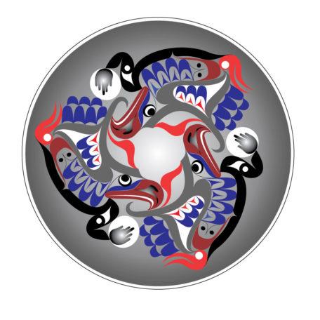 Coastal Drumming Circle - Art Print - Designs by Nytom