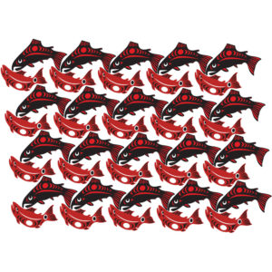 Coho's Coho's Coho's - Limited Edition Giclee' Print - Designs by Nytom