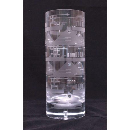 Whale Hunter Vase